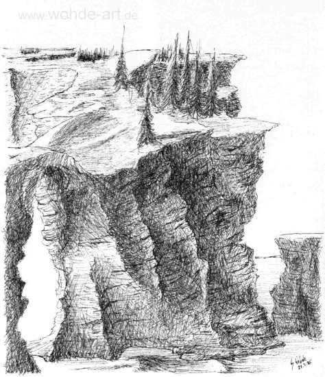 Felsen, Insel