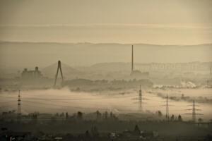 Industrie am Morgen
